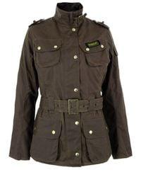 Barbour | Green International Sandstone Jacket for Men | Lyst