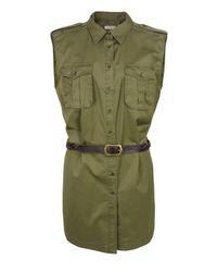 By Malene Birger - Uzio Military Green Dress - Lyst