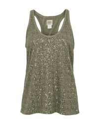 Denim & Supply Ralph Lauren | Green Sequin Olive Vest | Lyst
