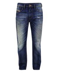 DIESEL | Blue Larkee Relaxed Denim Jeans for Men | Lyst