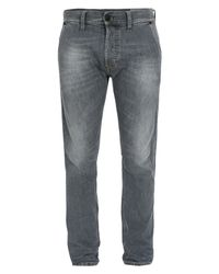 DIESEL   Gray Kakee Grey Denim Jeans for Men   Lyst