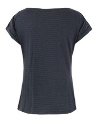 Farhi by Nicole Farhi | Blue D6aj6 Navy & Charcoal Top | Lyst