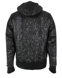 Ma.strum | Quilted Hooded Liner Black Jacket for Men | Lyst