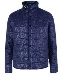 Ma.strum | Blue Quilted Liner Navy Jacket for Men | Lyst