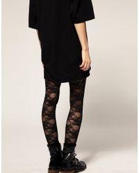 American Apparel - Black Lace Ski Pant - Lyst