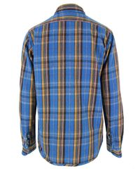 Nigel Cabourn | Reversible Blue Check Shirt for Men | Lyst