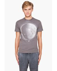 Paul Smith - Gray Moon Printed T-shirt for Men - Lyst
