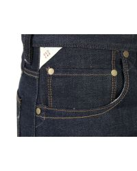 Paul Smith | Blue Unwashed Selvage Jeans for Men | Lyst