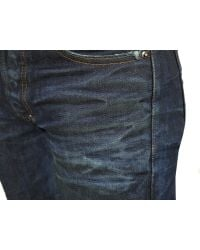 PRPS | Blue Rambler Selvedge Used Very Dark Jeans for Men | Lyst