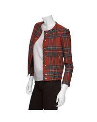 Rag & Bone - Red Harvard Jacket - Lyst
