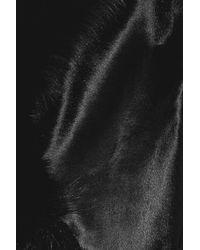 Ralph Lauren Collection - Black Adele Shearling Jacket - Lyst