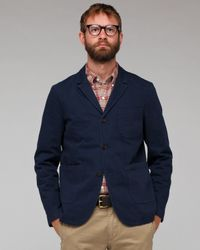Universal Works | Blue Draighton Jacket for Men | Lyst