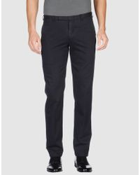 Z Zegna - Blue Trouser for Men - Lyst