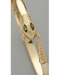Jenny Bird - Metallic Everday Serpent Bangle - Lyst