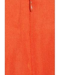 By Malene Birger | Orange Lupa Twill Dress | Lyst