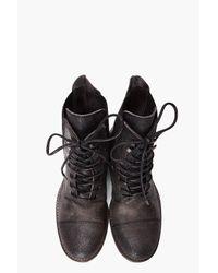 Ksubi - Black Raven Lace Boot for Men - Lyst