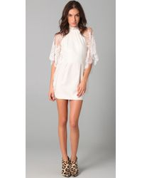 Lover | White Mademoiselle Dress | Lyst