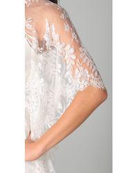 Lover - White Mademoiselle Dress - Lyst