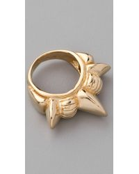 Pamela Love | Metallic Tribal Spike Band Ring | Lyst