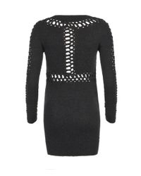 AllSaints | Black Laurentia Mini Dress | Lyst
