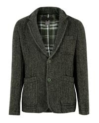 Comme des Garçons | Natural Khaki Tweed Jacket for Men | Lyst