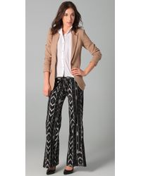 Georgie - Black St Barts Ikat Pants - Lyst