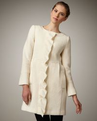 Nanette Lepore | Natural Napa Valley Coat | Lyst