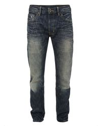 Natural Selection | Blue Smith Straight Saddle Wash Jeans for Men | Lyst