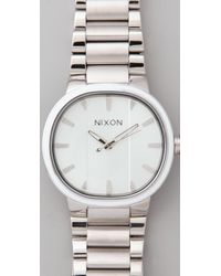 Nixon - White Capital Watch - Lyst