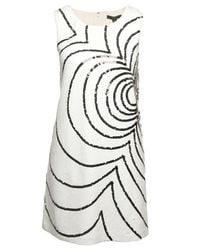 Rachel Zoe | White Peggy Sequin Flower Dress | Lyst