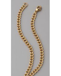 CC SKYE - Metallic Secret Bullet Necklace - Lyst