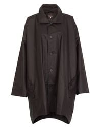 Eskandar | Brown Cocoon Draped Raincoat | Lyst