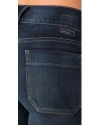 Goldsign - Blue Sissi Platform Flare Jeans - Lyst