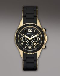Marc By Marc Jacobs | 40mm Chronograph Watch, Black | Lyst