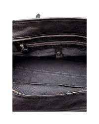 Proenza Schouler | Black Medium Ps1 Travel Leather and Felt Tote | Lyst