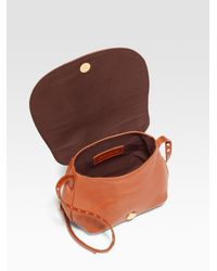 See By Chloé - Brown Hilo Small Leather Crossbody Bag - Lyst