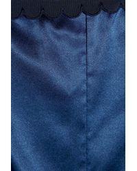 Stella McCartney | Blue Sam Partying Stretch-silk Playsuit | Lyst