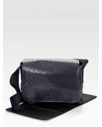 Gucci | Blue Diaper Bag | Lyst