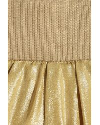 By Malene Birger | Ellua Metallic Silk Harem Pants | Lyst