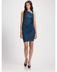 Doo. Ri | Blue Draped Tank Dress | Lyst