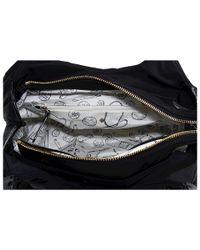 kate spade new york - Black Nylon Small Karen Shoulder Bag - Lyst