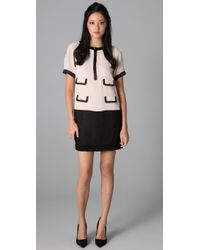 By Malene Birger | Natural Diama Crew Neck Dress | Lyst