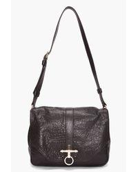 Givenchy | Black Obsedia Messenger Bag | Lyst