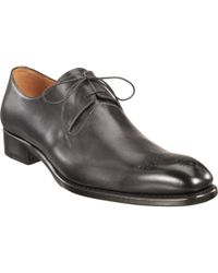 Harris - Black Wholecut Blucher for Men - Lyst