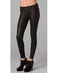 J Brand   Black Skinny Leather Pants   Lyst
