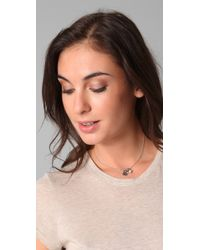 Juicy Couture - Metallic Hamsa Love Luck & Couture Necklace - Lyst