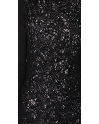 L.A.M.B. - Black Long Turtleneck Sweater Dress - Lyst