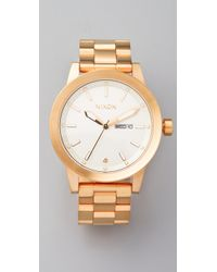 Nixon | Metallic The Spur Watch | Lyst
