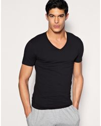 Paul Smith | Black Jeans V Neck T Shirts for Men | Lyst