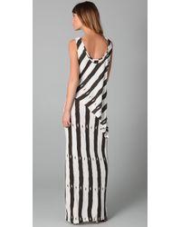 Sass & Bide - Black The Little Detail Long Jersey Dress - Lyst